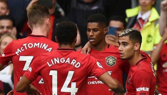 Manchester United vs. Crystal Palace juegan por la Premier League. (Foto: AFP)