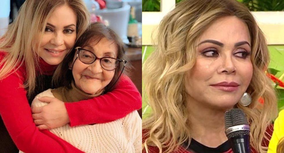 Gisela Valcárcel se quebró al hablar de su mamá y revelar que no la ve debido al estado de emergencia