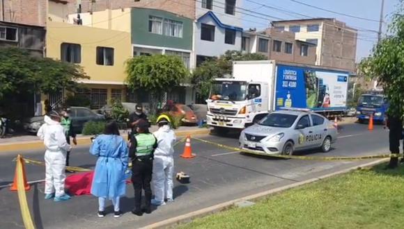 El atropello fatal ocurrió en la cuadra 12 de la avenida Morales Duárez, en el Callao.