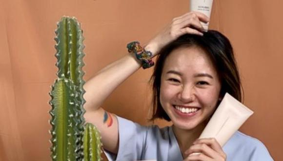 Nicole Lim, creadora del podcast @somethingprivatepod .