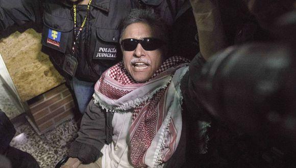 Fiscalía de Colombia deja en libertad a ex líder de las FARC Jesús Santrich. (Foto: AP)