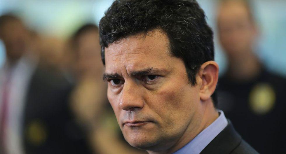 """Sergio Moro también insistió en que desconoce su """"autenticidad"""", porque pudieron ser """"editados total o parcialmente"""". (Foto: AFP)"""