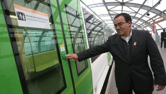 Ministro José Gallardo dijo que el proyecto Tren de la Costa requiere inversión de S/.27,500 millones. (Perú21)
