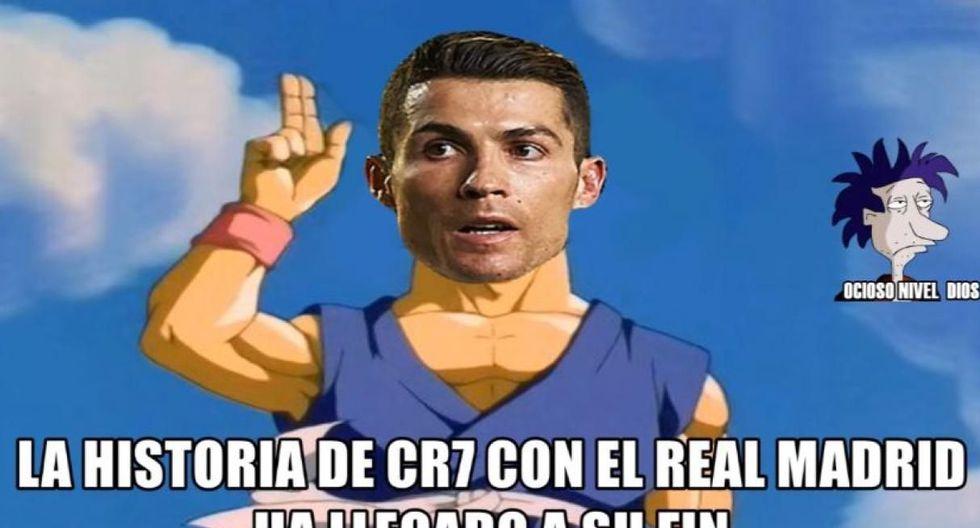 Cristiano Ronaldo ya no es jugador del Real Madrid. (Facebook)