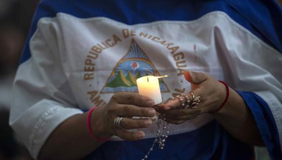 Nicaragua vive una crisis social y política que ha generado protestas contra el Gobierno de Ortega. | Foto: EFE