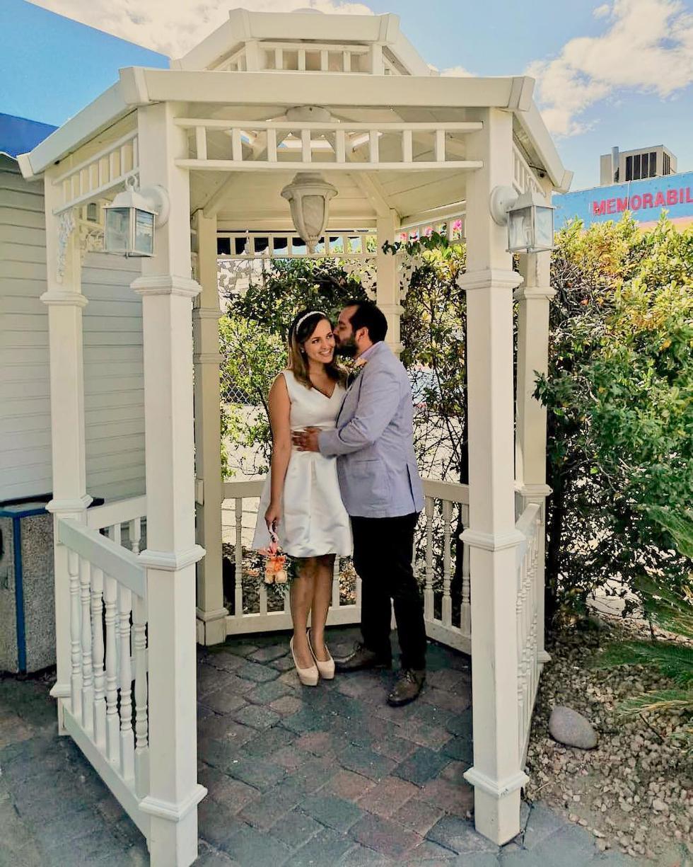 En secreto, Carla Tello y Junior Silva se casaron