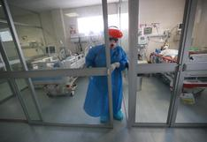 Ocupación de camas UCI alcanzó cifra equivalente al máximo histórico desde inicio de la pandemia COVID-19