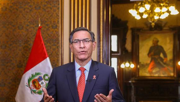Mandatario dio un mensaje a la Nación en que critió al congreso por no aprobar reformas constitucionales claves (Presidencia).