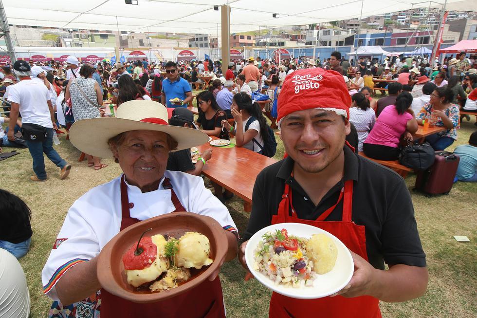 Durante los tres días que duró este encuentro con lo mejor de la comida peruana, los comensales consumieron alrededor de 55 mil platos pertenecientes a las 25 regiones del país. (Getty)