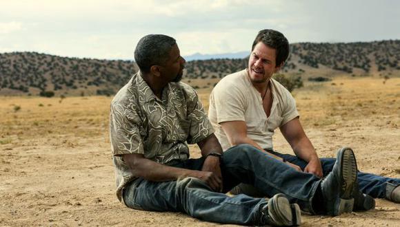 Washington y Wahlberg son dos agentes secretos que se infiltran en un cártel de droga. (AP)