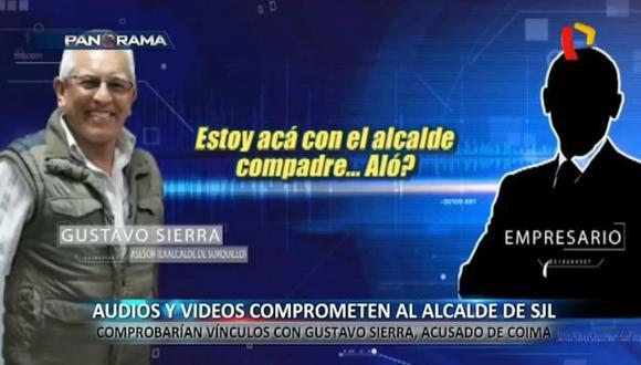 Gustavo Sierra es sindicado de haber sido asesor del alcalde de San Juan de Lurigancho, Álex Gonzales. (Panorama)