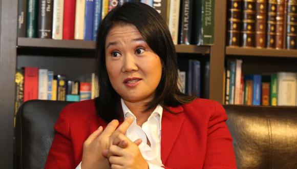 Keiko Fujimori se pronunció sobre el fallo de La Haya. (Perú21)