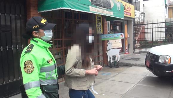 En el lugar fueron intervenidas tres mujeres, dos peruanas y una venezolana.