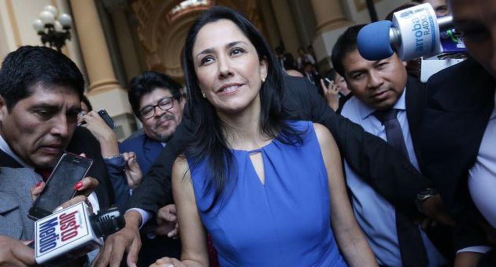 Nadine Heredia podría ser juzgada por complicidad en el delito de colusión y usurpación de funciones.