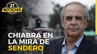 Sendero amenaza a congresista Roberto Chiabra