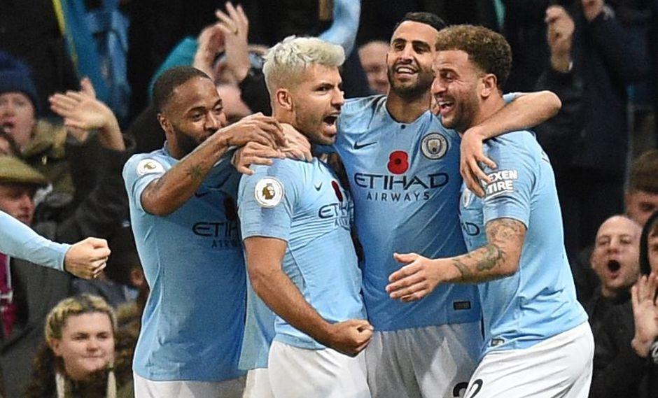 Manchester City vs. West Ham: con Sergio Agüero, los celestes cuidan el invicto ante un cuadro que ha mostrado cierta mejora en la Premier League. (AFP)