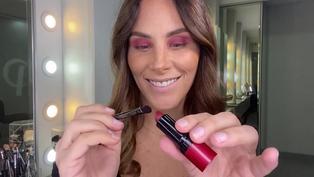 Cómo utilizar tu labial para maquillarte en ojos y pómulos