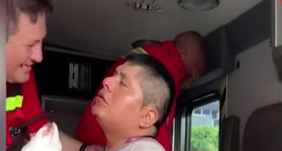 Alianza Lima vs. Sporting Cristal: Reportero de 'Teledeportes' termina ensangrentado tras caída de panel publicitario en Matute