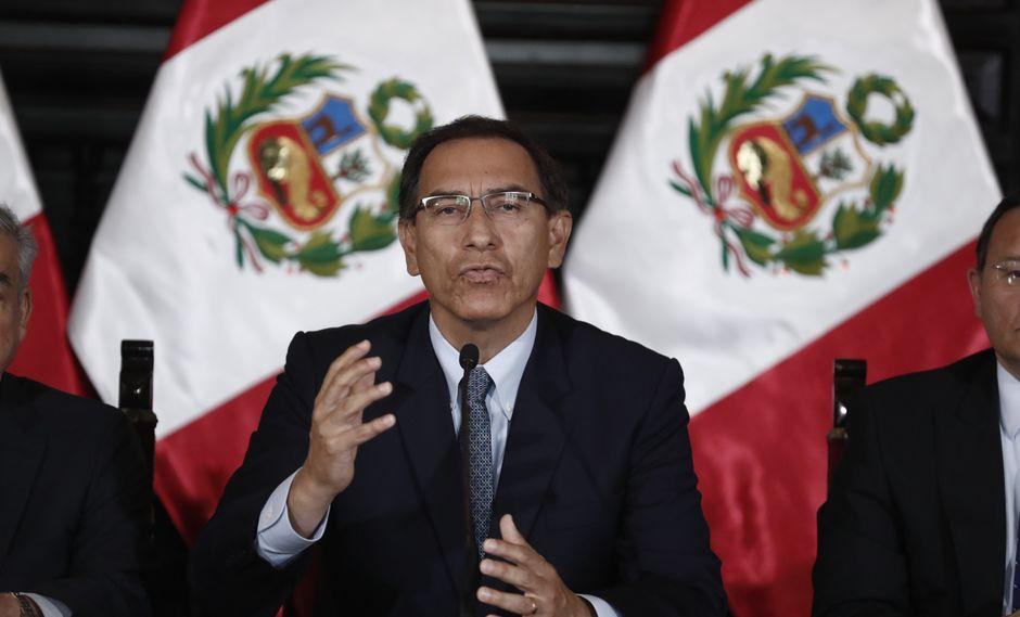 Martín Vizcarra subrayó obligación del Estado en enfrentar la violencia contra la mujer. (FOTO: USI)