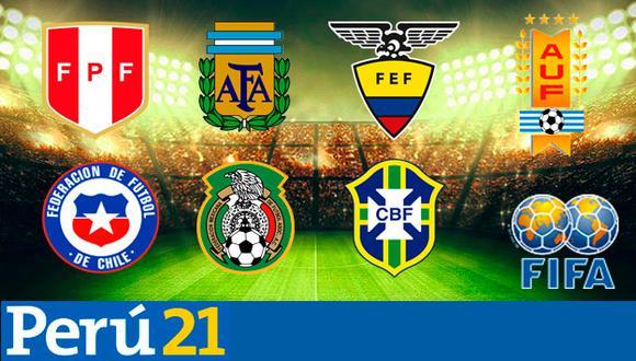Conoce la programación completa de la Fecha FIFA de esta semana y la UEFA Nations League. (Foto: Composición)