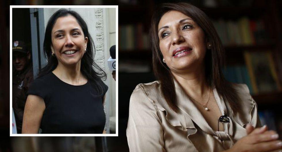 Julia Príncipe manifestó que Nadie Heredia fue la responsable de su salida de la procuradoría contra el lavado de activos. (Perú21)