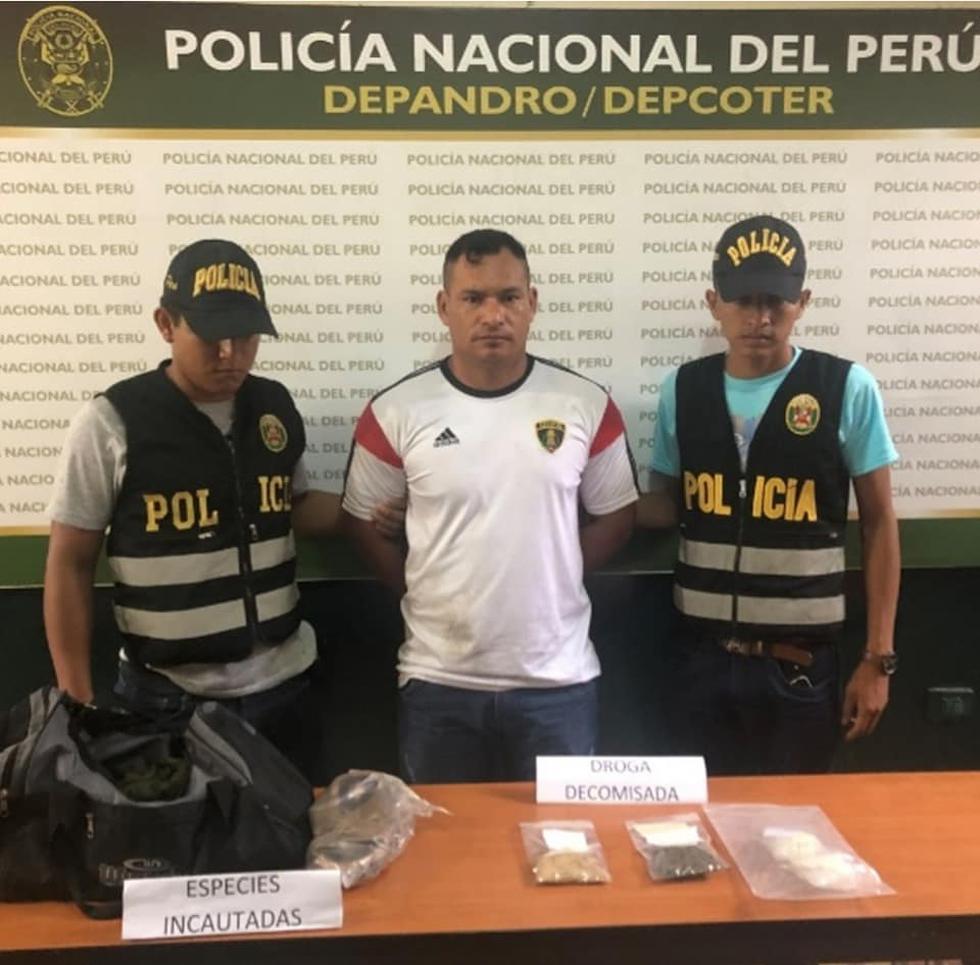 Trabajador del INPE intentó ingresar droga en sus sandalias al penal de Iquitos. (Facebook Loreto Informa News)