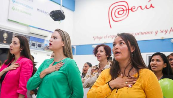 Este jueves, la Superintendencia Nacional de Migraciones informó que dieciséis madres nacidas en el extranjero se nacionalizaron peruanas. (Foto: Migraciones)