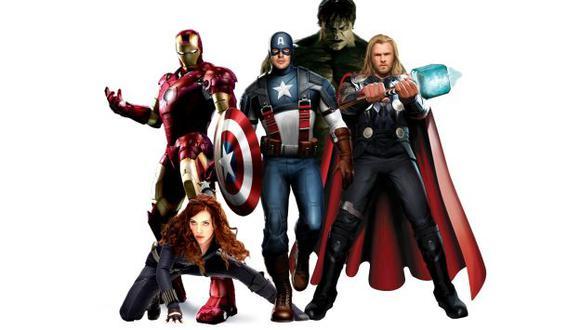 Los superhéroes analizados. (Difusión)