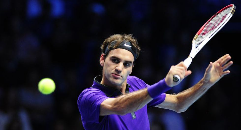 El tenista suizo Roger Federer ocupa el séptimo lugar. (AFP)