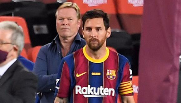 Lionel Messi suma 640 goles con la camiseta del FC Barcelona. (Foto: AFP)