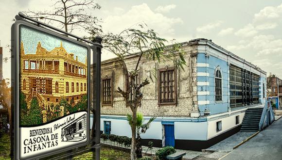 La casona de Infantas es el vestigio colonial que guarda este distrito. (Foto: Facebook Comunidad de Infantas - SMP)
