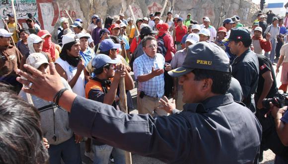 Protestaron contra proyecto. (Heiner Aparicio)