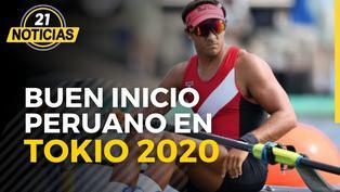 Tokio 2020: Alvaro Torres fue tercero remo