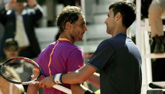 Roland Garros: Rafael Nadal y Novak Djokovic ya están en cuartos de final. (Agencias)