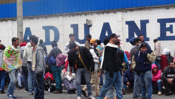 Cerca de 250,000 venezolanos se encuentran actualmente en Ecuador. (Foto: EFE)