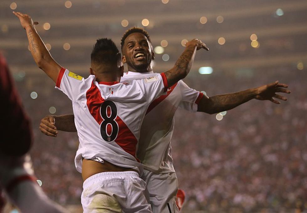 Camiseta de la selección peruana