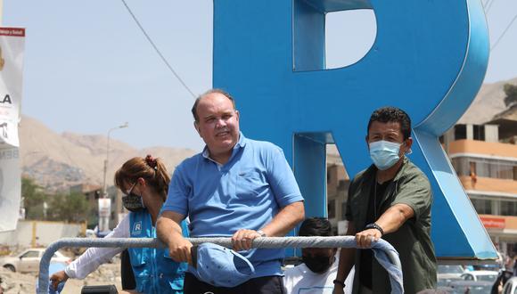 Rafael López Aliaga, candidato presidencial de Renovación Popular, quedó en el tercer lugar en la primer vuelta de las Elecciones 2021, realizadas el pasado 11 de abril. (Foto: Britanie Arroyo/GEC)