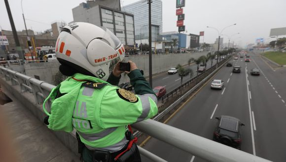 Hasta la fecha se detectaron más de 130 faltas de conductores.(Foto: Anthony Niño De Guzmán)