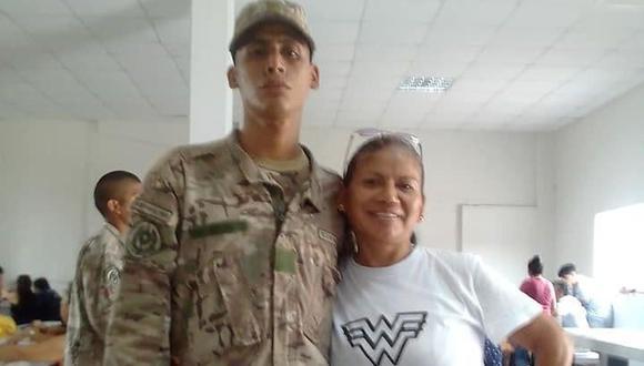 Joven que realizaba servicio militar desaparece en medio del estado de emergencia. (Facebook)