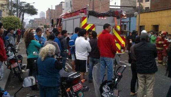 Heridos fueron trasladados al hospital Arzobispo Loayza. (@AFandinoC)