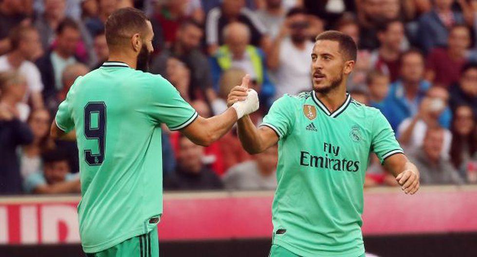 Real Madrid vs. Roma: chocan en su último amistoso de pretemporada. (Foto: AFP)