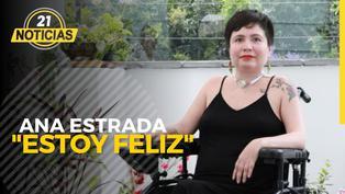 """Ana Estrada: """"Estoy muy feliz"""", tras fallo a favor de su muerte digna"""