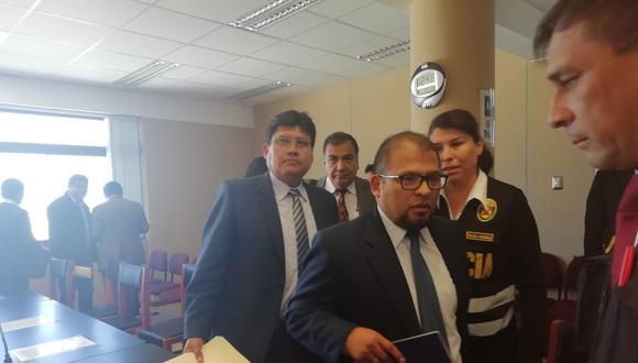 Alcalde de Arequipa, Omar Candia fue sentenciado. (MIGUEL IDME)