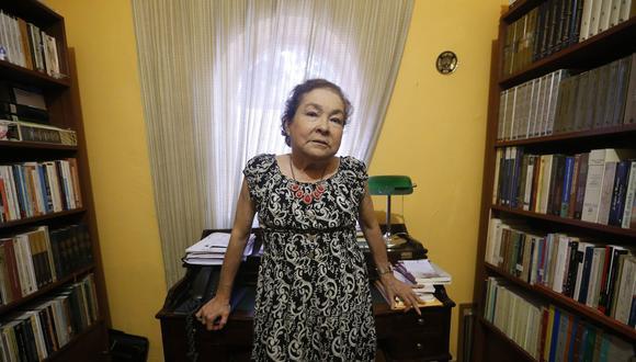 Liliana Regalado, historiadora y profesora principal del Departamento de Historia PUCP. (Mario Zapata)