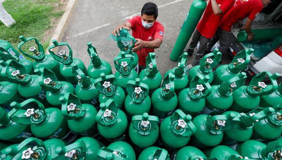 Huánuco: la fundación Luis Dyer e Hijos entregó 20 concentradores de oxígeno de tecnología alemana y fabricación china. (Foto: Difusión)