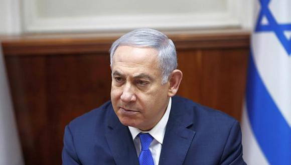 El primer ministro israelí, Benjamin Netanyahu, anunció que acortará su viaje por Estados Unidos para dirigir las operaciones militares tras caída del cohete. (Foto: EFE)