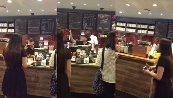 Ruby Chen denunció por Facebook el maltrato que sufrió en Starbucks de Nueva York (Captura vía Mashable)