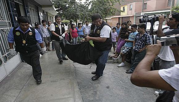 El homicidio ha conmocionado al distrito de Comas. (Alberto Orbegoso)