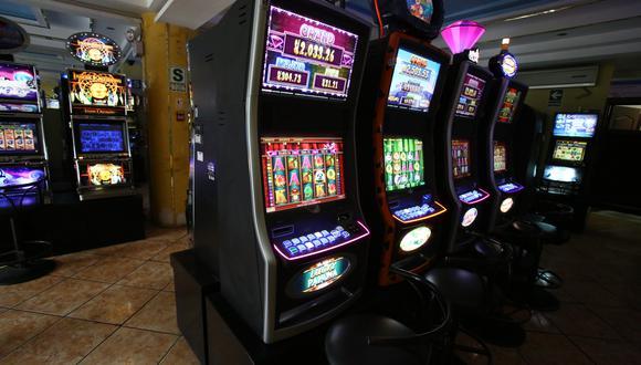 Los tragamonedas tendrán un sistema especial para pagar el ISC. (Foto: USI)