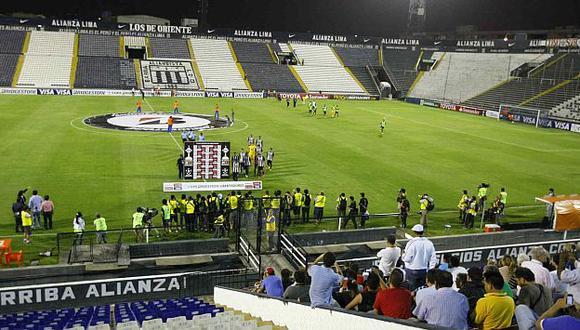 Alianza Lima volverá a jugar en Matute este fin de semana. (USI)